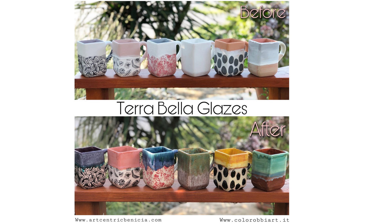 Terra Bella glazury